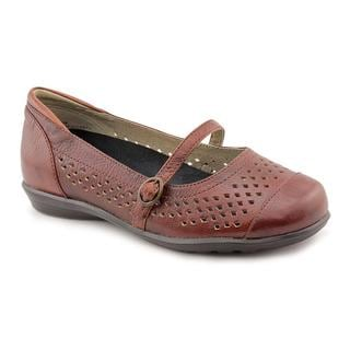 Aetrex Women's 'Alana' Leather Casual Shoes - Wide