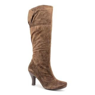 Biviel Women's 'BV2869' Brown Regular Suede Boots