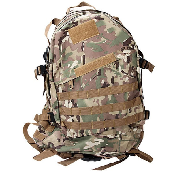 Desert Camouflage Nylon Backpack