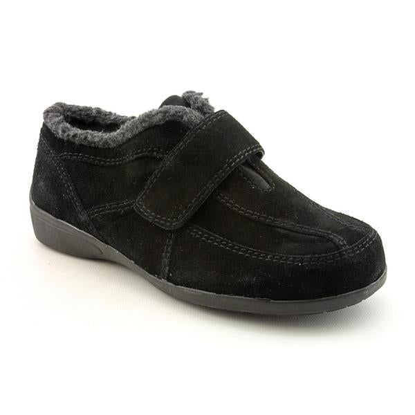 Easy Spirit Black Leather Trainfree Womens Shoes