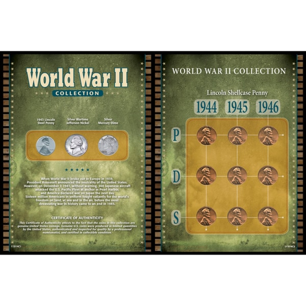 American Coin Treasures World War II Collection