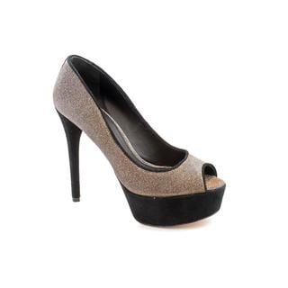 Brian Atwood Women's 'Bambola' Silver Basic Textile Dress Pumps