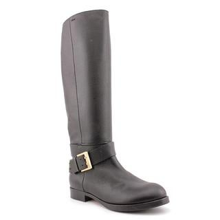 Chloe Women's 'Prince' Black Leather Boots