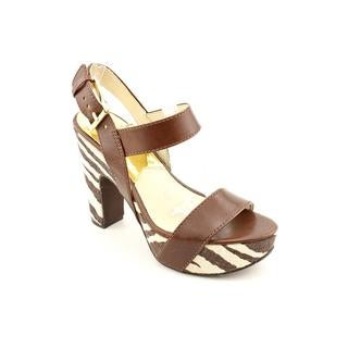 Michael Kors Women's 'Ivana ' Leather Sandals