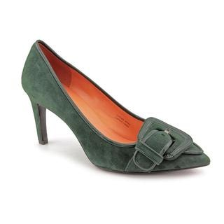 Via Spiga Women's 'Haddie' Green Leather Dress Shoes