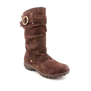 Khombu Women's 'Igloo 2' Regular Brown Suede Boots