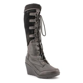 Khombu Women's 'Toronto' Leather Boots