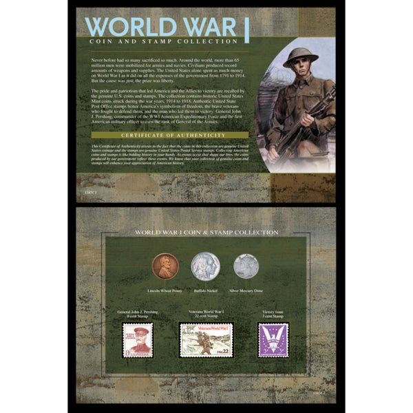 American Coin Treasures World War I Coin/ Stamp Collection