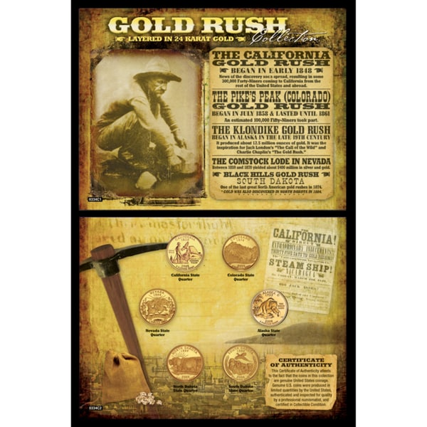 American Coin Treasures Gold Rush Collection
