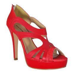 Women's Bruno Menegatti 2060605 Red Leather