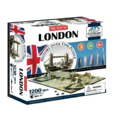 4d Cityscape London History Time: 1,230 Pieces (General merchandise)