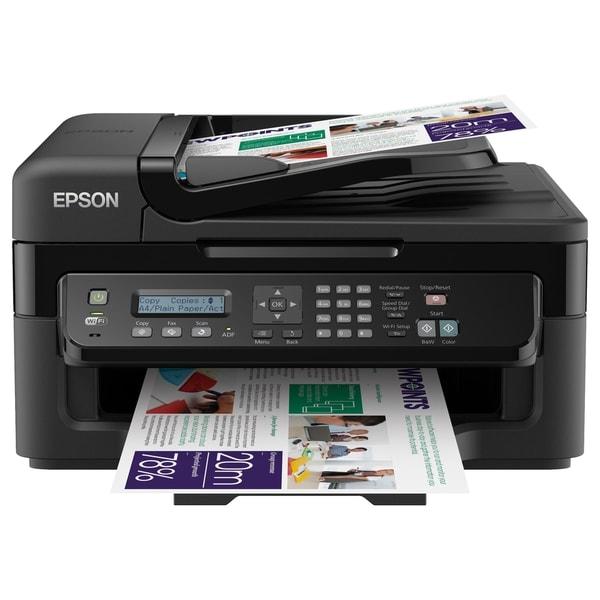 Epson WorkForce WF-2530 Inkjet Multifunction Printer - Color - Photo