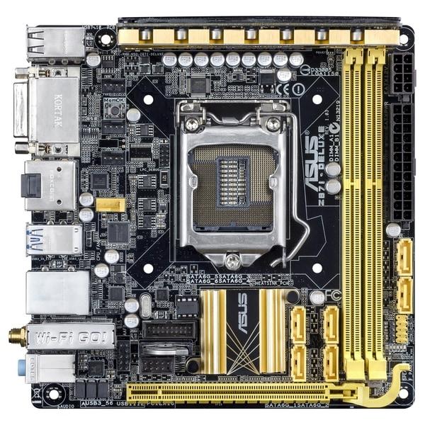 Asus Z87I-DELUXE Desktop Motherboard - Intel Z87 Express Chipset - So