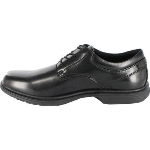 Men's Nunn Bush Baker St. Black Smooth Leather