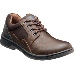 Men's Nunn Bush Baraboo Brown Tumbled Leather