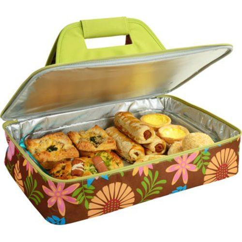 picnic at ascot insulated casserole carrier floral 15550073 shopping big. Black Bedroom Furniture Sets. Home Design Ideas