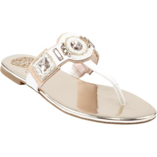 Women's Vince Camuto Madith White/Platin Leather