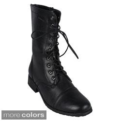 Reneeze Women's 'ALICE-07' Women's Mid-calf Boots