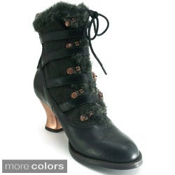 Hades Women's 'Nephele' Victorian Almond-toe Ankle Boots