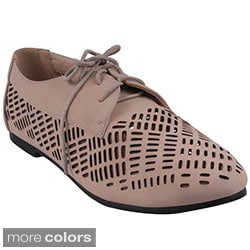 Refresh Women's 'Galen-11' Comfort Casual Oxfords