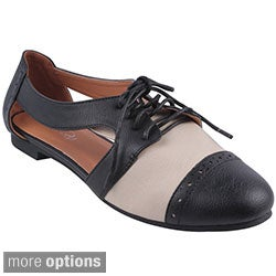 Refresh Women's 'Marty-01' Comfort Casual Oxfords