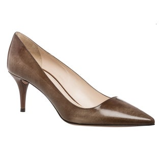Prada Women's Leather Pointed Toe Pumps