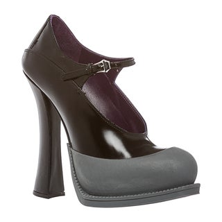 Prada Women's Leather Mary Jane Pump