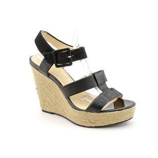 Calvin Klein Women's 'Ellison' Leather Sandals