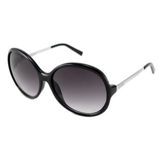 Kenneth Cole Reaction Women's KC1201 Black/Gray Round Sunglasses