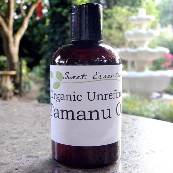 Pure Certified Organic Unrefined Tahitian Tamanu (Fohara) Oil
