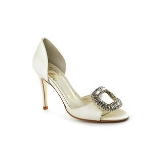 Bridal by Butter Women's 'Clover' Ivory Satin Dress Shoes
