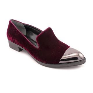 Rachel Roy Women's Burgundy 'Lyannah' Hair Calf Dress Shoes