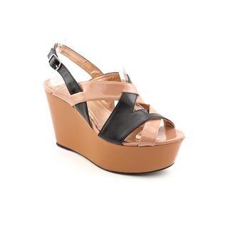 BCBGeneration Women's 'Laffie' Leather Sandals