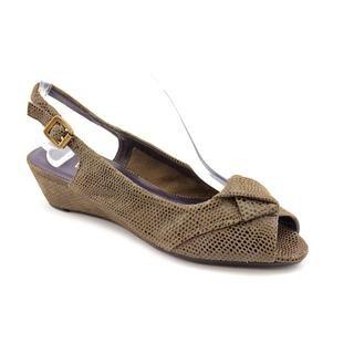 Vaneli Women s Brown Eneas Regular Suede Dress Shoes - Narrow Today