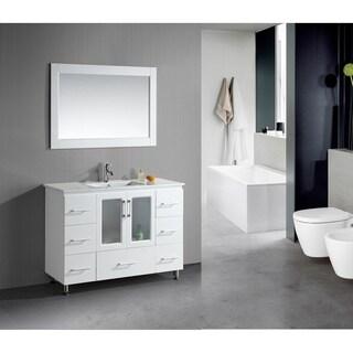 Stanton 48-Inch Single Drop-In Sink Vanity
