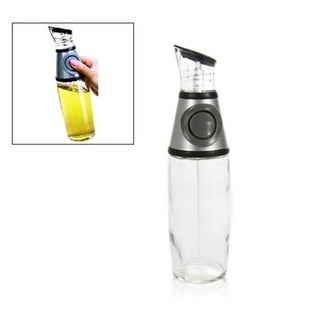 Press and Measure Oil & Vinegar Dispenser Bottle
