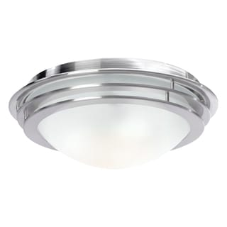 Access Genesis 3-light Brushed Steel Flush Mount