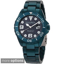 Haurex Italy Ink Men's Aluminum Date Watch