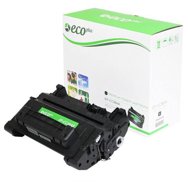 EcoPlus HP CC364A Remanufactured Toner Cartridge (Black)