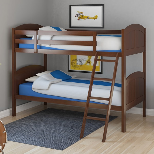 Solid Wood Twin Bunk Bed 600 x 600