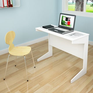 Sonax D-214-NHL Frost White Slim Workspace Desk