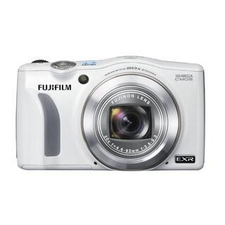 Fujifilm FinePix F800EXR 16MP White Digital Camera