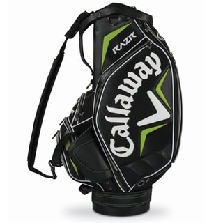 Callaway RAZR Black/ Green Staff Bag
