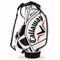 Callaway X White/ Black/ Red Staff Bag