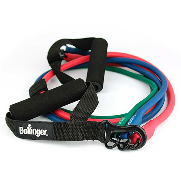 Bollinger Fitness 3-in-1 Adjustable Resistance Band Kit