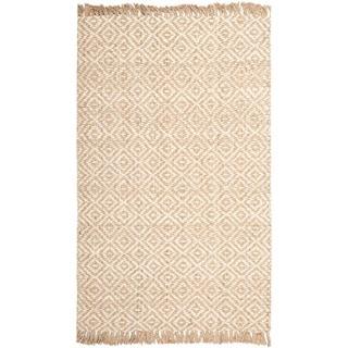 Safavieh Hand-woven Sisal Style Natural/ Ivory Jute Rug (11' x 15')