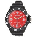 Impulse by Steinhausen Mens Poseidon Silicone Diver Quartz Watch