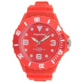 Impulse by Steinhausen Mens Poseidon Silicone Diver Red/ Red Quartz Watch