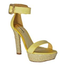 Women's Bruno Menegatti 10415839 Mustard Leather