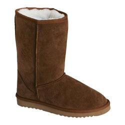 Children's Lamo Youth Sheepskin Boot Chocolate